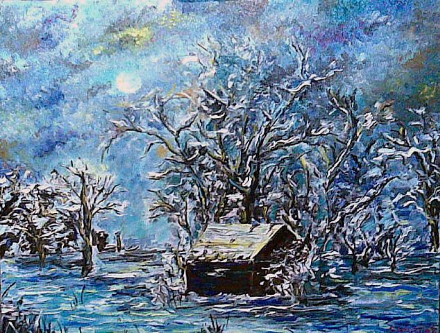 Magic Of The Winter Night by Yana Lopushok