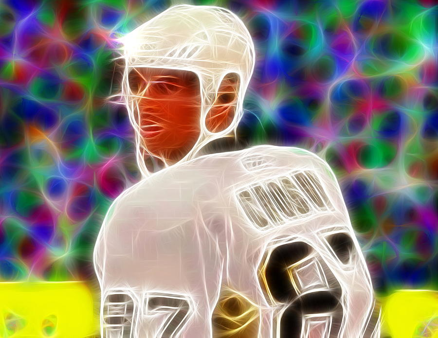 Magical Sidney Crosby Painting