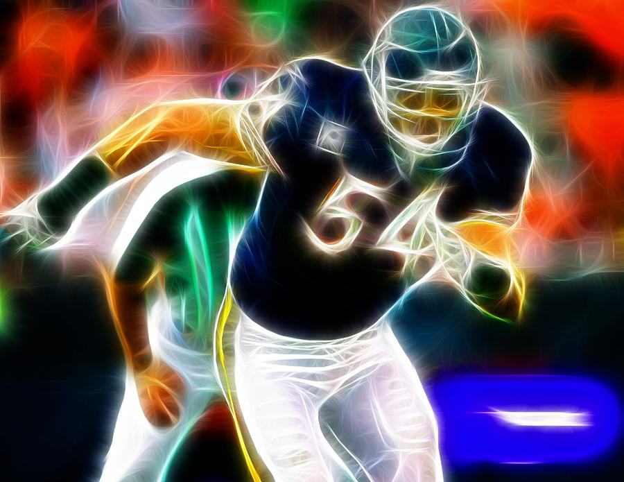 Magical Urlacher Painting  - Magical Urlacher Fine Art Print