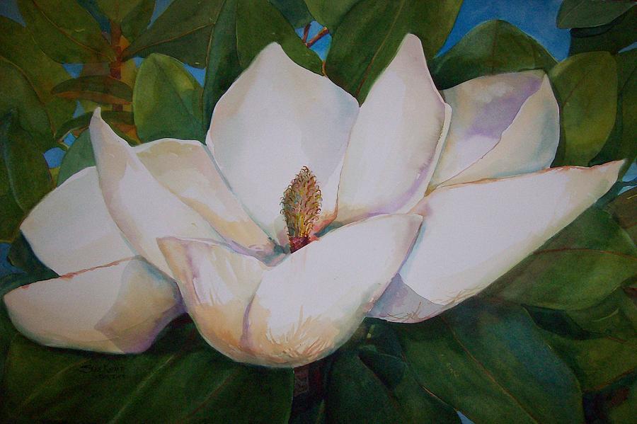 magnolia painting - photo #16