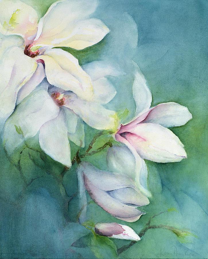 magnolia painting - photo #31
