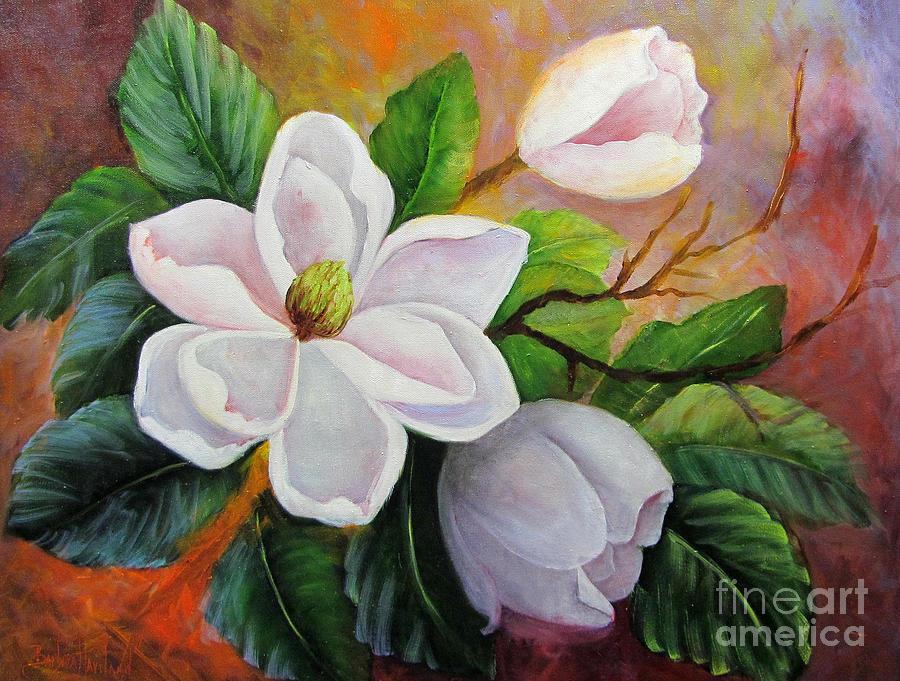 magnolia painting - photo #15