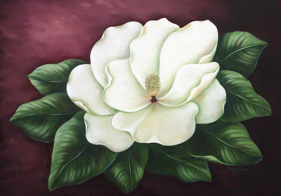 magnolia painting - photo #9