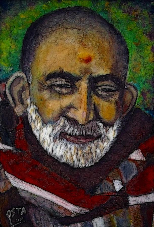 Maharaji Painting