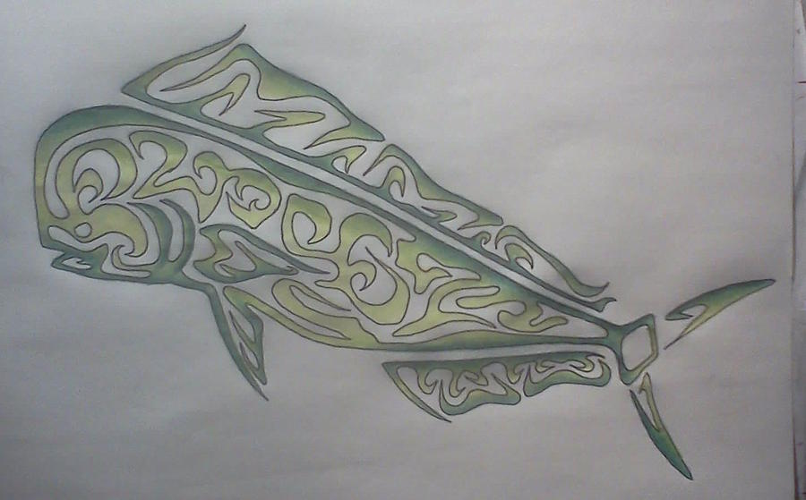Mahi Mahi Tattoos Designs