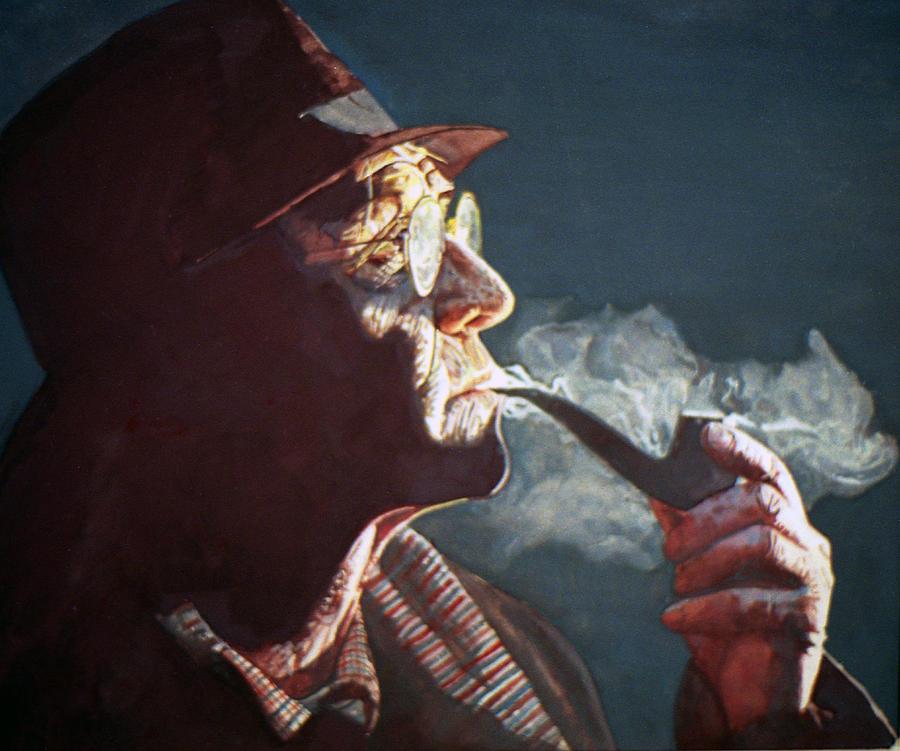 Maigret Painting