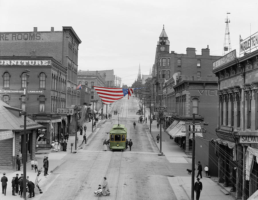 Main Street America Photograph By Andrew Fare