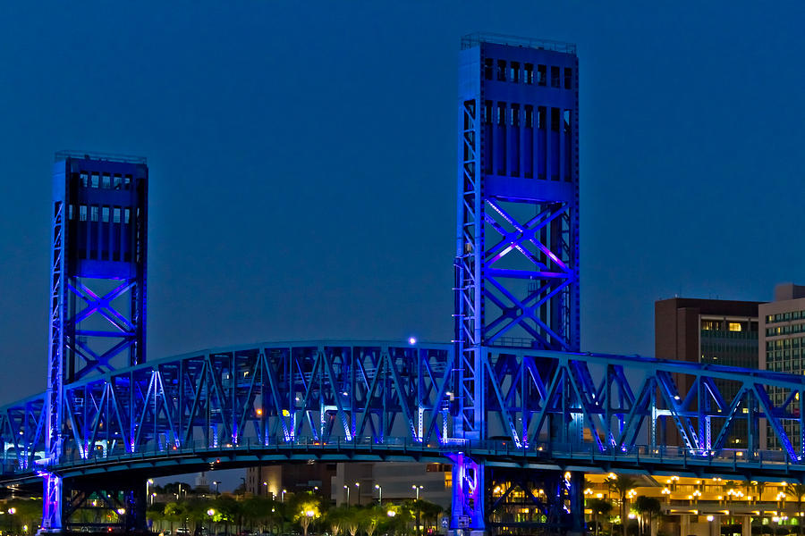 Main Street Bridge Jacksonville Photograph