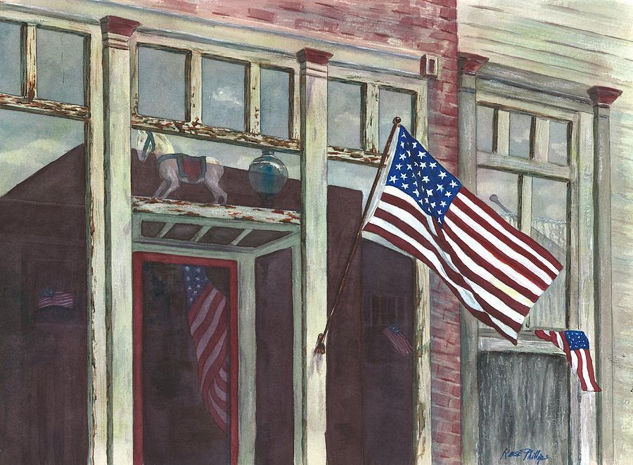 Main Street Usa Painting