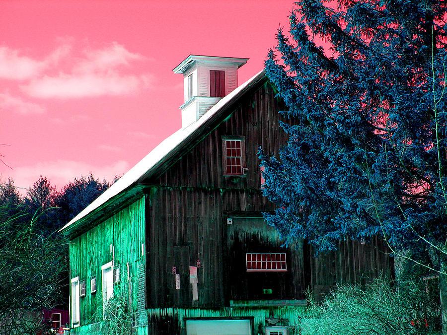 Maine Barn Photograph
