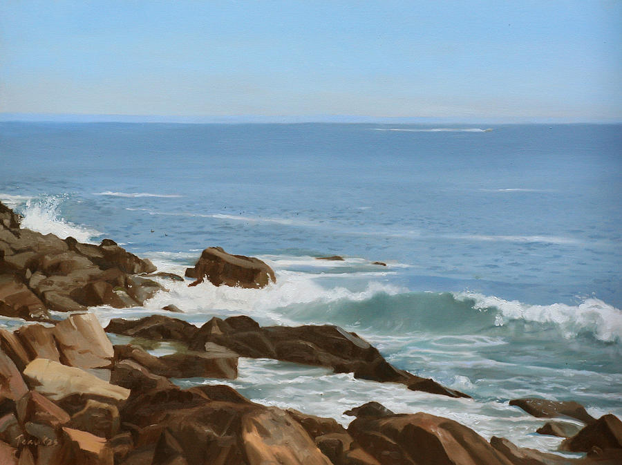 Maine Coast Painting