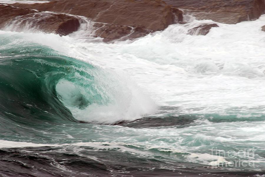Maine Coast Storm Waves 1 Of 3 Terri Winkler on 2