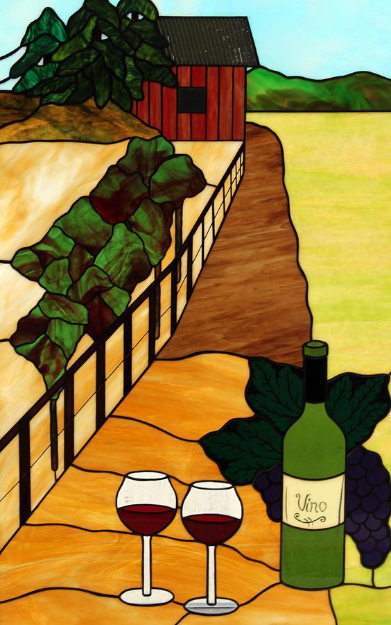Maine Vineyard Glass Art