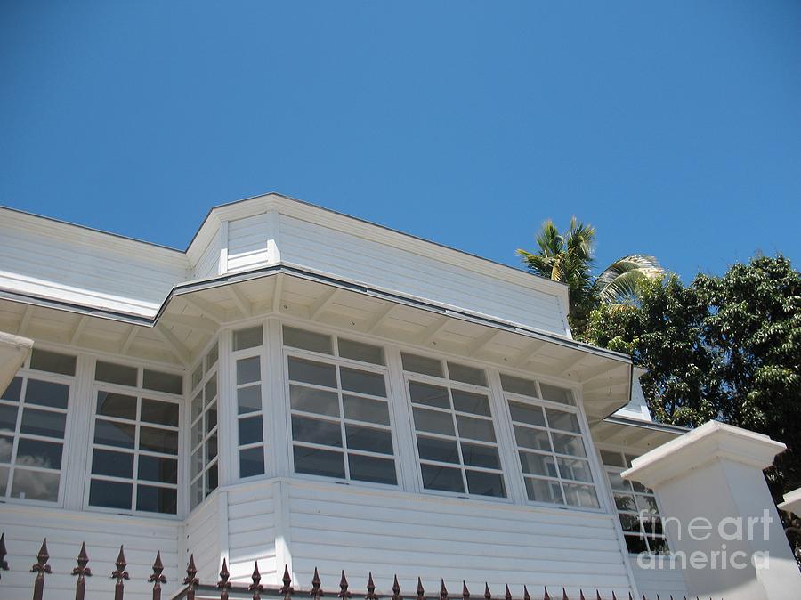 Maison creole white house ile de la reunion reunion island photograph by francoise leandre for Maison de la reunion