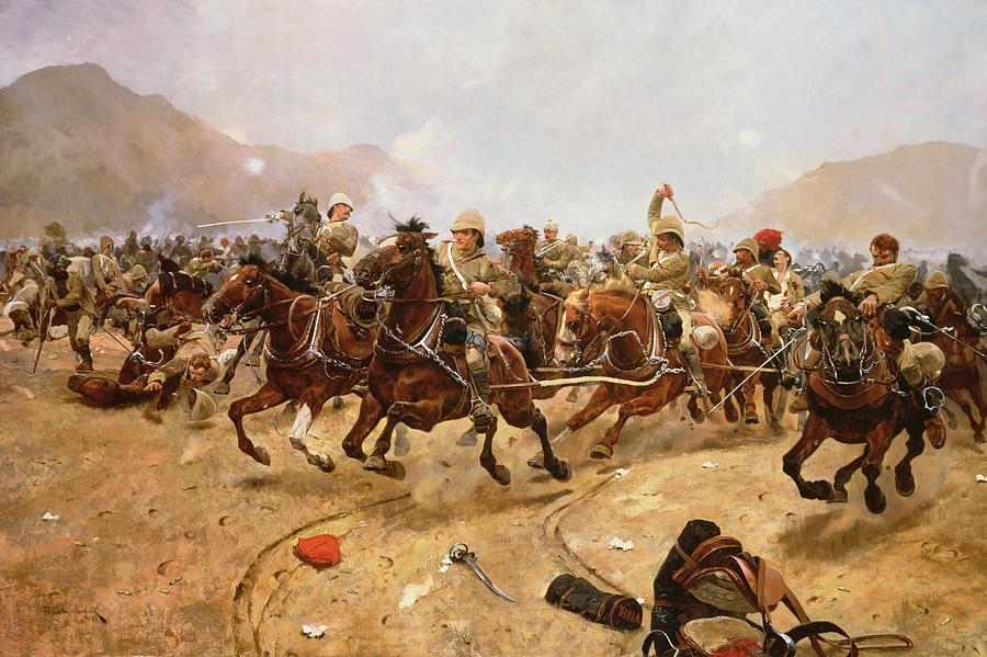 Maiwand Painting