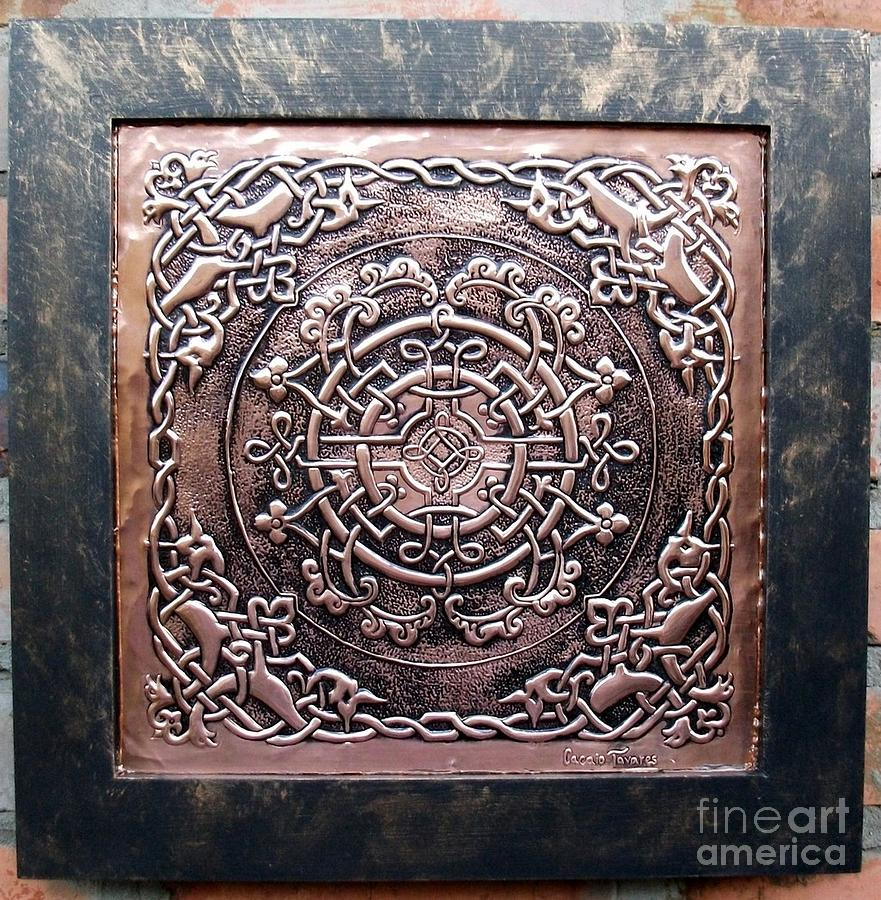 Copper Relief - Majestic by Cacaio Tavares