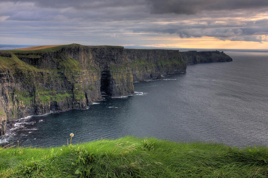Majestic Cliffs Of Moher Co. Clare Ireland Photograph