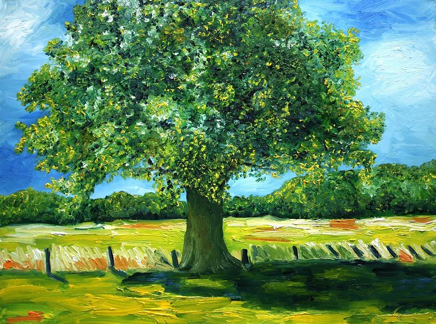 Majestic Oak Painting