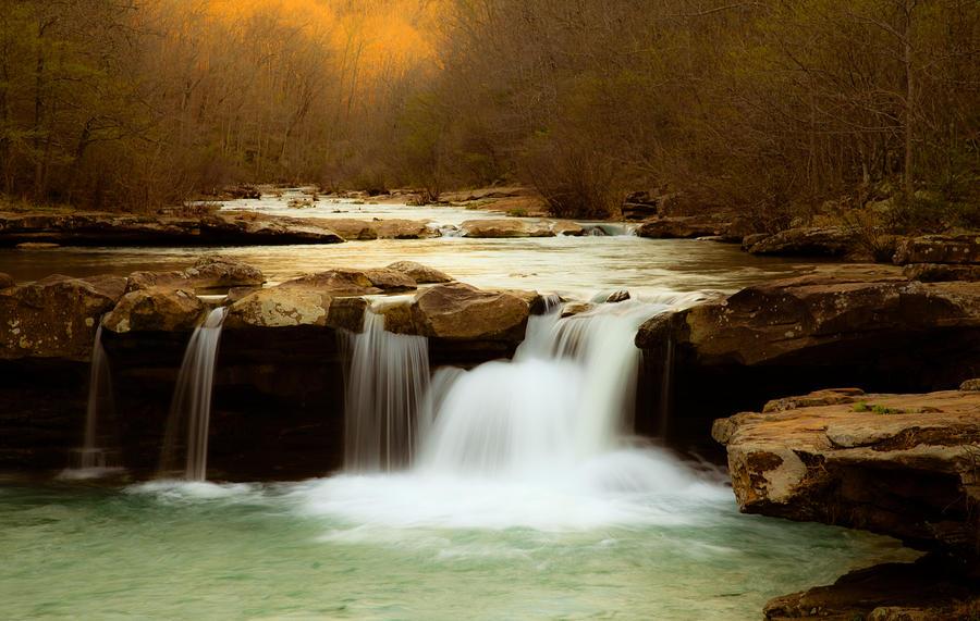 Majestic Waterfalls Photograph