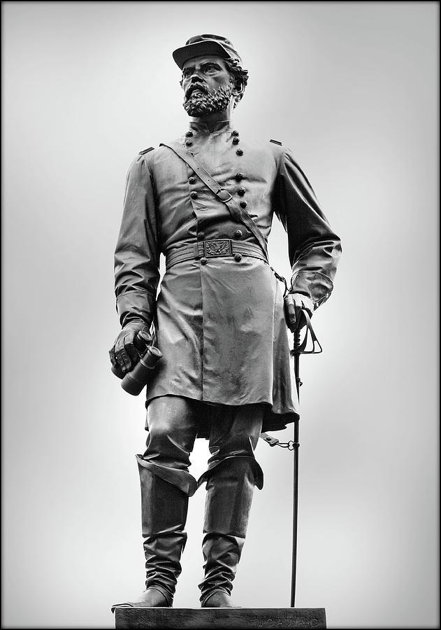 Major General John Reynolds Statue At Gettysburg Photograph