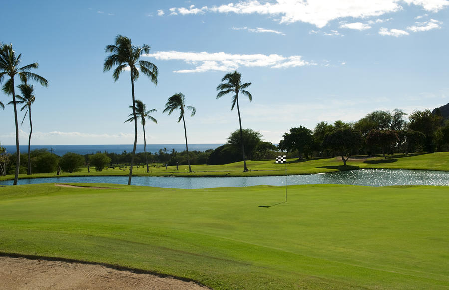 Makaha Golf Course Photograph  - Makaha Golf Course Fine Art Print