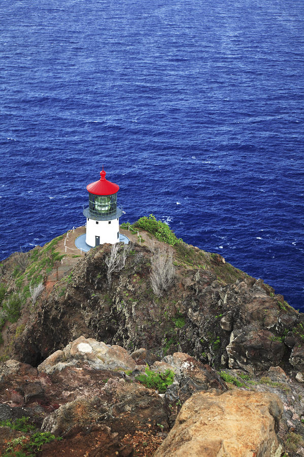 Makapuu Lighthouse II Photograph  - Makapuu Lighthouse II Fine Art Print
