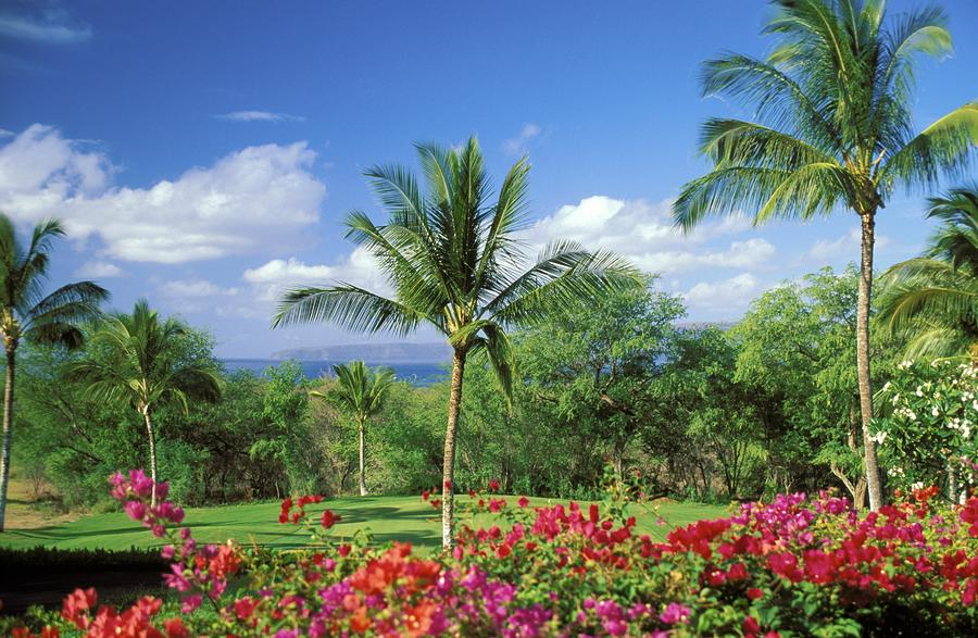 Makena Beach Golf Course Photograph