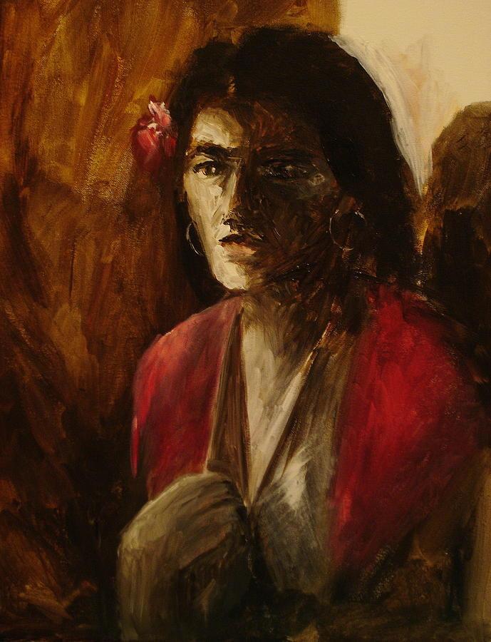 Malaguena Painting