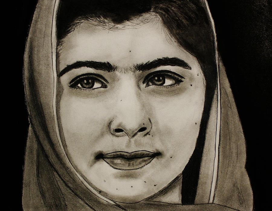 Malala Yousafzai- Teen Hero Drawing