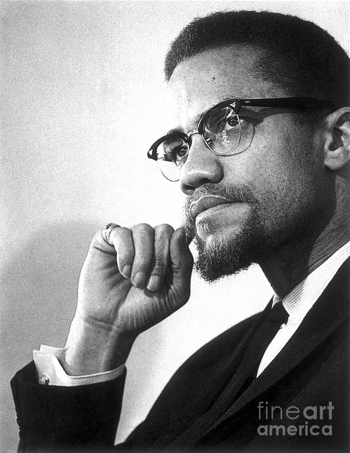 Malcolm X (1925-1965) Photograph