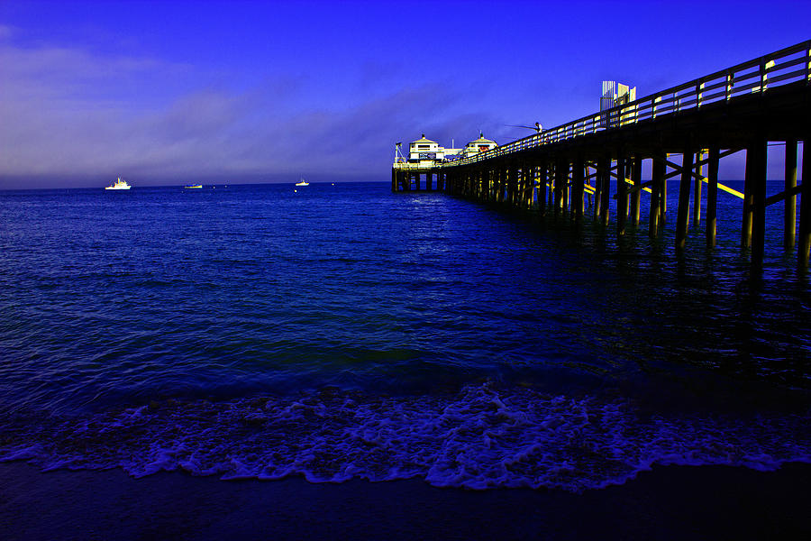 Malibu Blues Painting  - Malibu Blues Fine Art Print