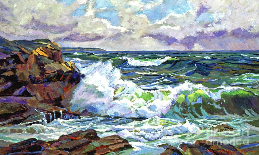 Malibu Cove Painting