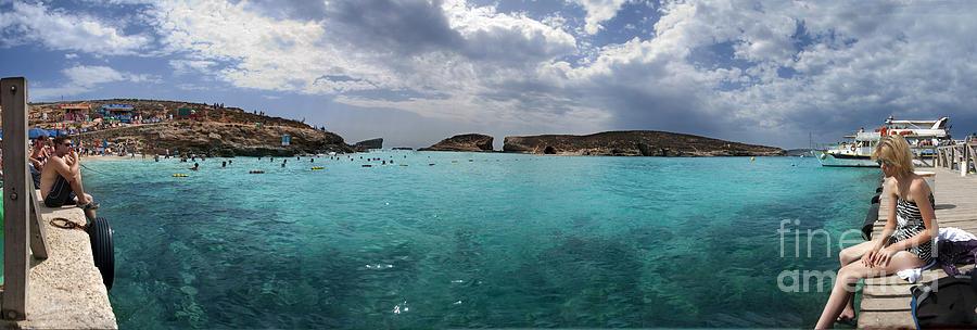 Malta Island Photograph - Malta Mediterranean Beach by Guy Viner