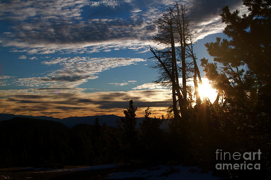 Mammoth Mountain California At Sunrise Photograph