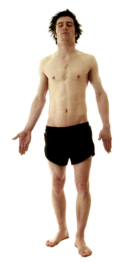 Man In Boxer Shorts Photograph  - Man In Boxer Shorts Fine Art Print