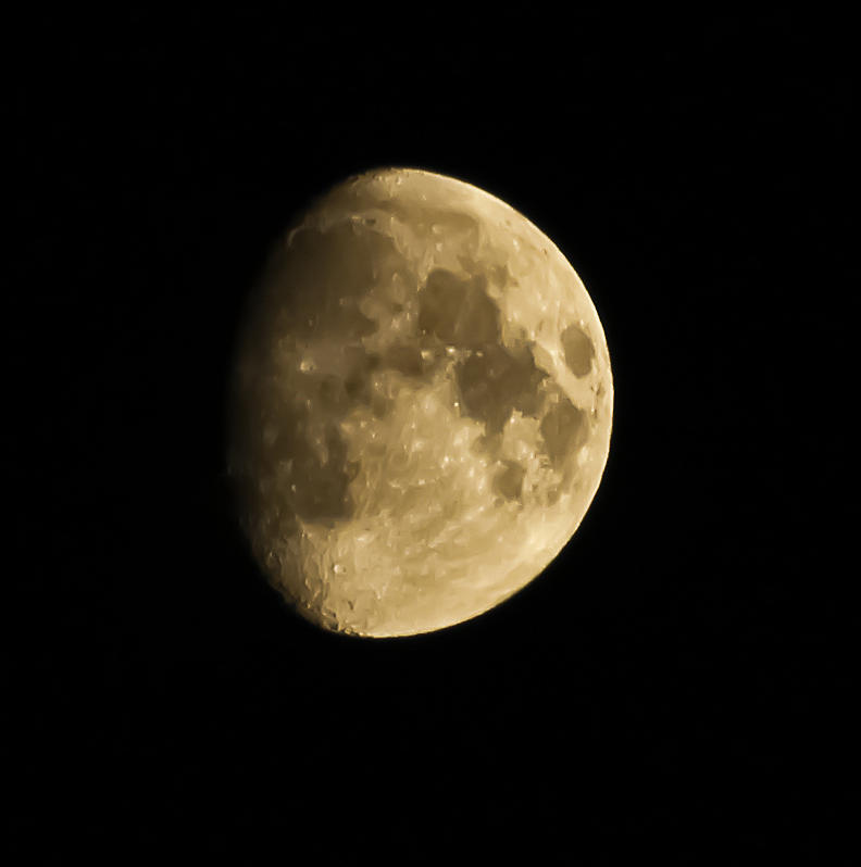 Man In The Moon Photograph