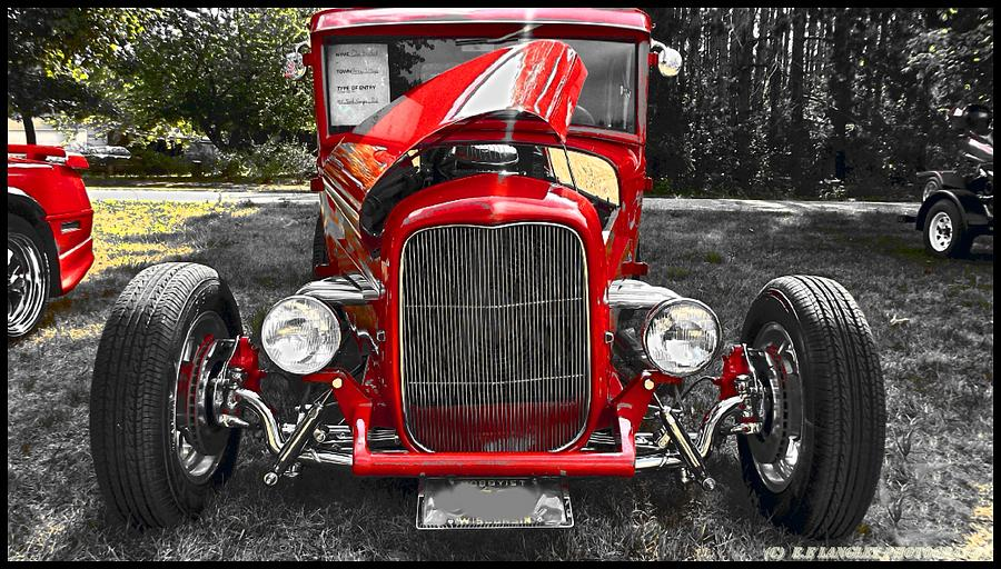 Man Made Classic Hot Rod Photograph