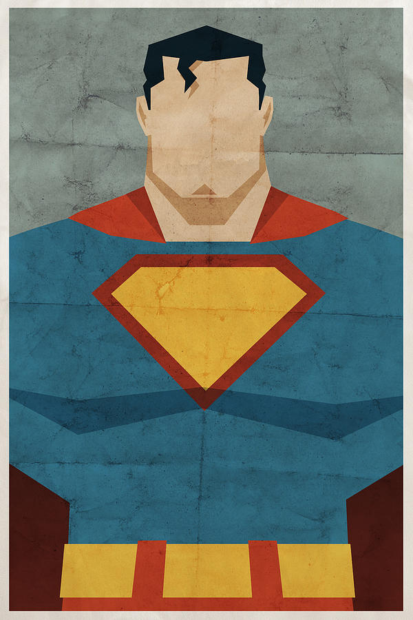 Man Of Steel Digital Art  - Man Of Steel Fine Art Print
