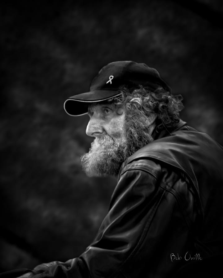 Man With A Beard Photograph  - Man With A Beard Fine Art Print