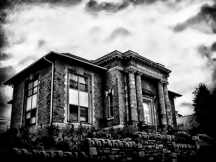 Manayunk Branch Of The Free Library Of Philadelphia Photograph  - Manayunk Branch Of The Free Library Of Philadelphia Fine Art Print