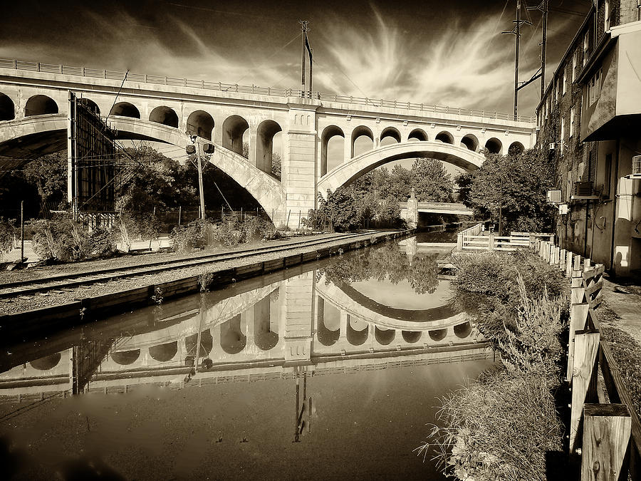Manayunk Bridge Photograph  - Manayunk Bridge Fine Art Print