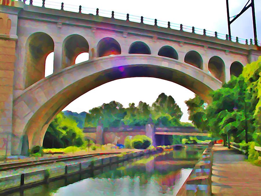 Manayunk Canal Photograph