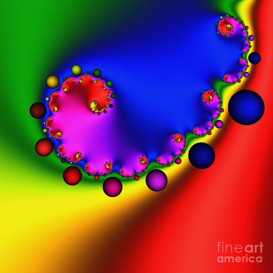 Mandala 208 Digital Art