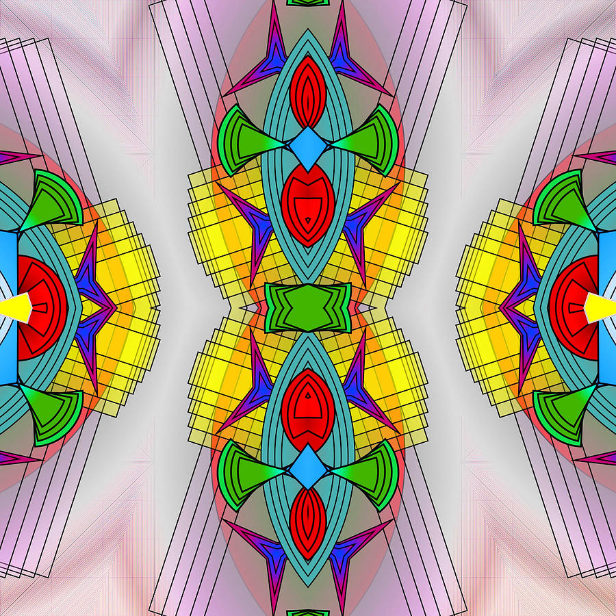 Mandala Mystery Digital Art