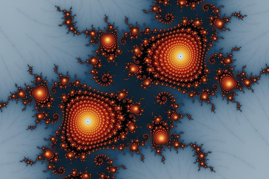 Mandelbrot Byways No. 6 Digital Art  - Mandelbrot Byways No. 6 Fine Art Print