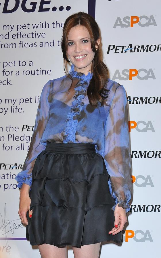 Mandy Moore Photograph - Mandy Moore In Attendance For Aspca by Everett