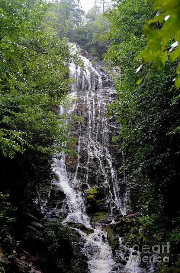 North Carolina Photograph - Mango Falls by Randy Edwards