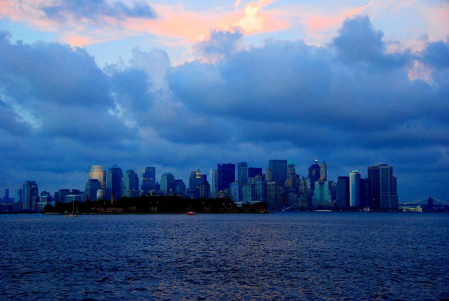 Manhattan Skyline I Photograph