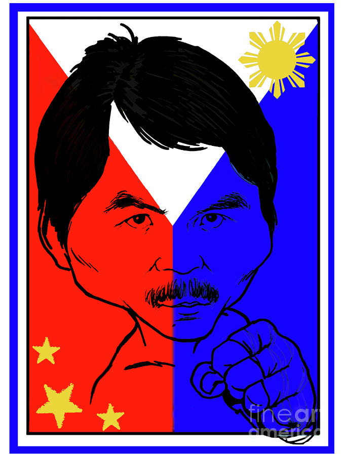 Manny Pacquiao Iron Fist Digital Art