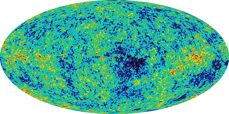 Map Microwave Background Photograph